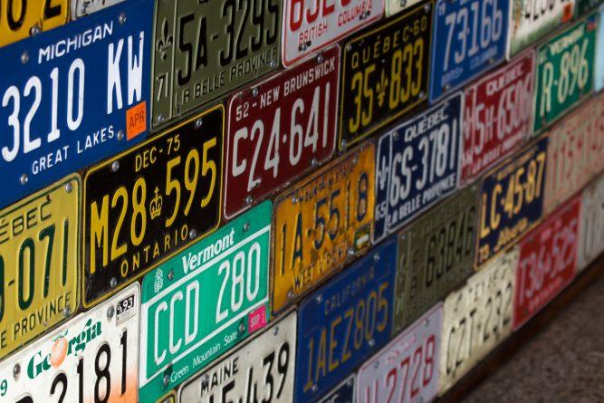 tablice rejestracyjne - co oznaczają